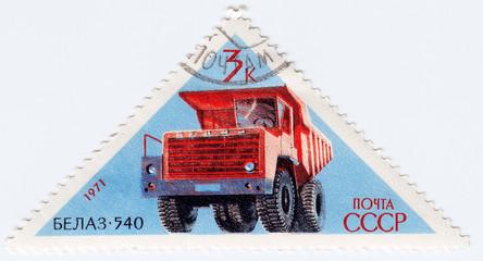 soviet automobil Belaz