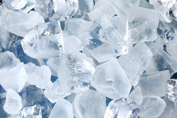 Wall Mural - Background in the form of ice cubes