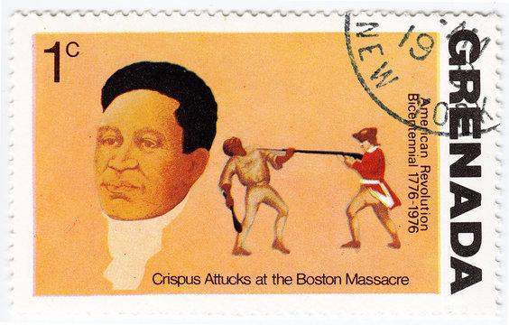 Crispus Attucks in Boston Massacre
