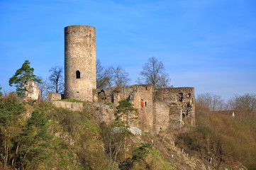 Old ruin in tne South Bohemian.