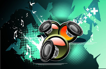 Speakers vector