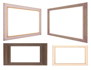 Four Wooden Picture Frame