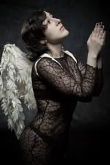 Praying of angel