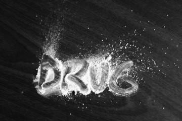 Drug on powder