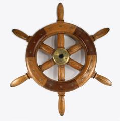 Wooden ships\boat wheel