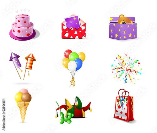Поздравление символами с днем рождения