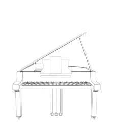 Piano Vector 07