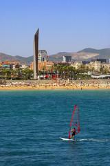 Windsurfing in Barcelona