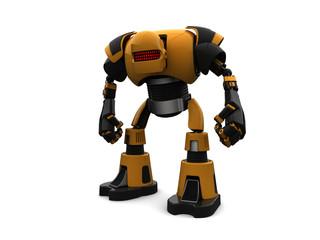 Aggressive 3d robot