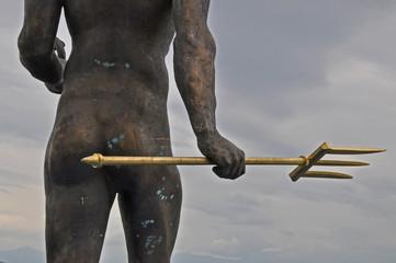 Poseidon mit Dreizack
