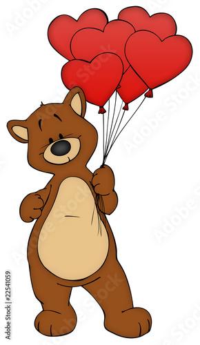 """Bär, Teddy, Teddybär, Liebe, verliebt, Valentinstag"""" Stockfotos ..."""