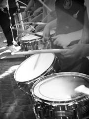 batucada con tambores