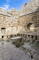 Ancient Perge archaeological site, Turkey