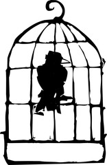 Bird in Cage