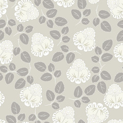 Roses pattern seamless background