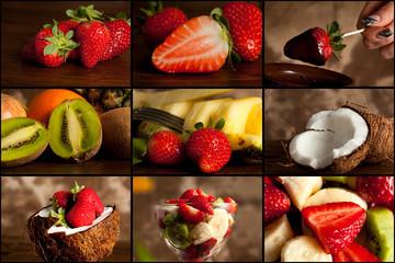 Collage Frutta
