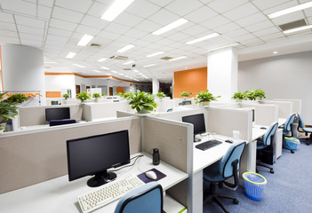 office work place in Beijing