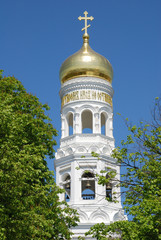 beautiful orthodox dome(Russia)