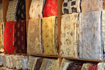 Silk in shop