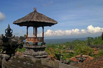 tempel in besakih auf der insel bali