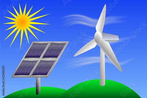 Energ a renovable im genes de archivo y vectores libres de derechos en imagen - Fotos energias renovables ...