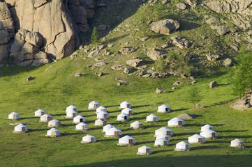 Mongolian gers