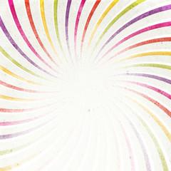 Textured color retro sunburst image.