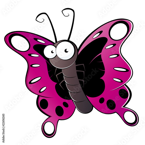 schmetterling cartoon lustig maskottchen insekt stock image and royalty free vector files on. Black Bedroom Furniture Sets. Home Design Ideas