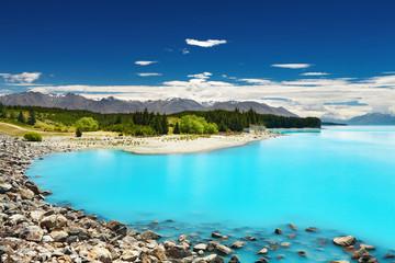 Wall Mural - Lake Pukaki, New Zealand