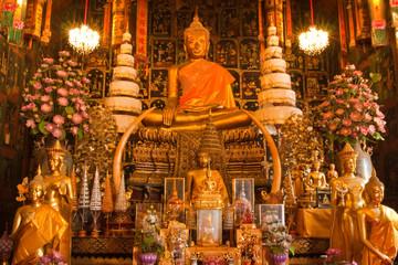 The Buddha of Wat Phananchoeng Worawihan, Ayutthaya, Thailand