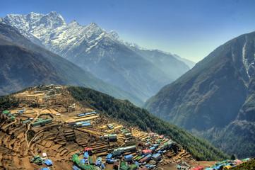 Namche Bazaar - Himalaya / Nepal