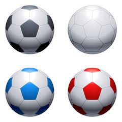 Soccer balls.