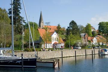 Borbyer Promenade in Eckernförde