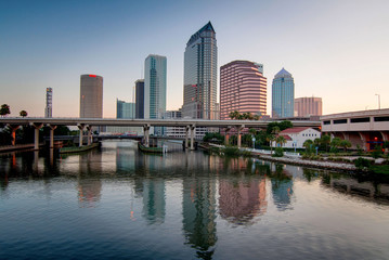 Tranquil Tampa Sunrise