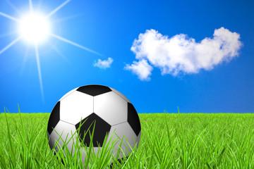 Fussball im Sommer
