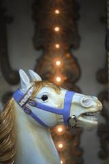 Manège, chevaux de bois et fête foraine