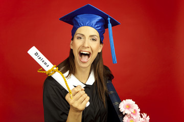 diploma absolventin