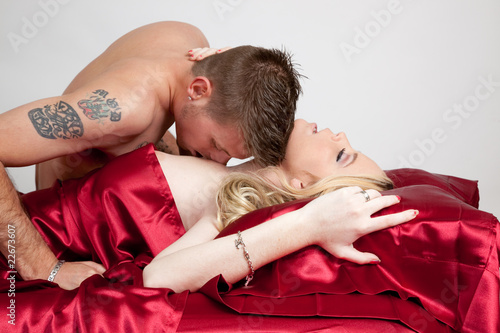 Lovers Passionate Kiss Stock Photo And Royalty Free Images On