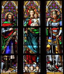 Foto op Aluminium Saints Georges et Saint Maurice
