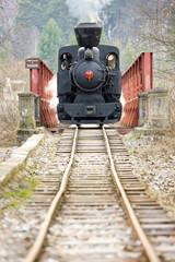 steam locomotive , Ciernohronska Railway, Slovakia
