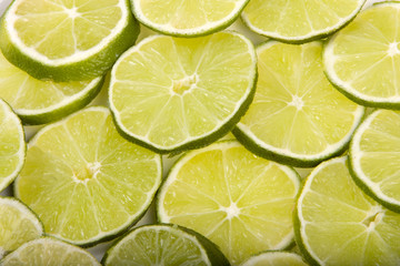 Limes  cross section Close-up