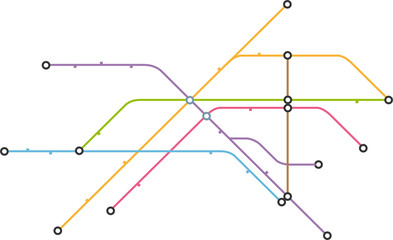 Streckennetz Teil 8