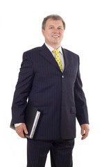 successful mature businessman