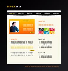 Sample text vector