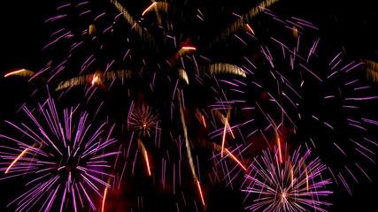 Beautiful fireworks championship in Plymouth,Devon