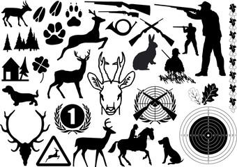 jagd symbole