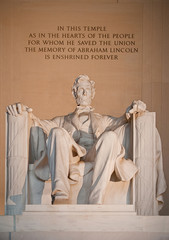 Statue of Abraham Lincoln