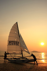 Sailing Central Gulf of Thailand