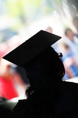 School Graduate Silhouette