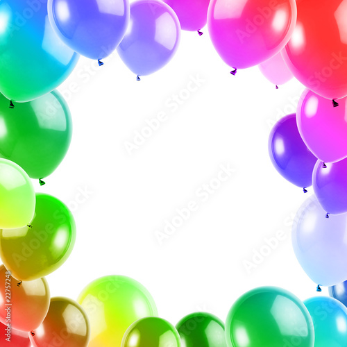 Cornice di palloncini colorati immagini e fotografie for Cornici per foto colorate